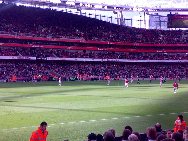 Arsenal FC - Blackburn Rovers, Emirates, Premier League, 14/03/2009