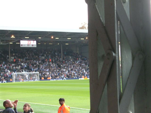 Fulham FC - FC Reading, Craven Cottage, Premier League, 03/11/2007