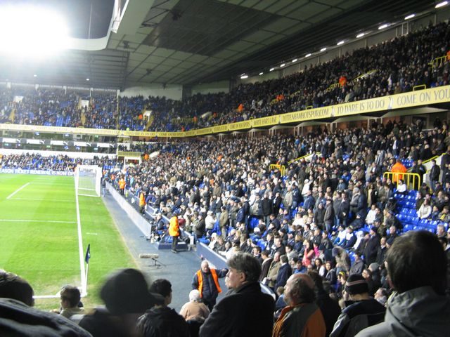 Tottenham Hotspur FC - Middlesbrough FC, White Hart Lane, Premier League, 04/03/2009