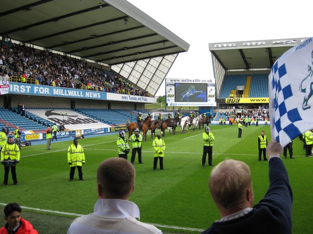 Millwall FC - Leeds United, New Den, League One, 09/05/2009
