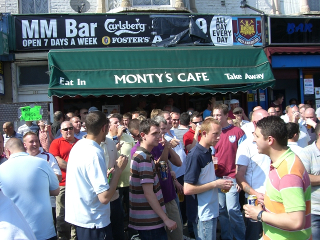 West Ham United - Middlesboro, Upton Park, Premier League, 24/05/2009