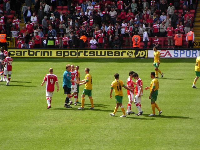 Charlton Athletic - Norwich City, Valley, Championship, 03/05/2009