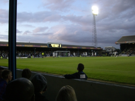 Southend United FC - Millwall FC, Roots Hall, League One, 21/08/2009