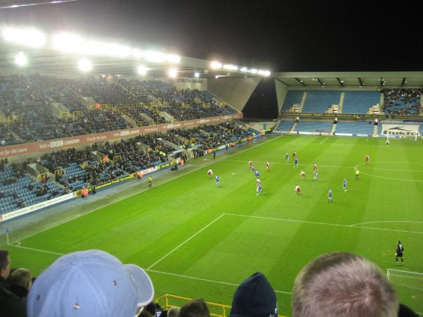 Millwall FC - MK Dons, New Den, League One, 01/12/2009