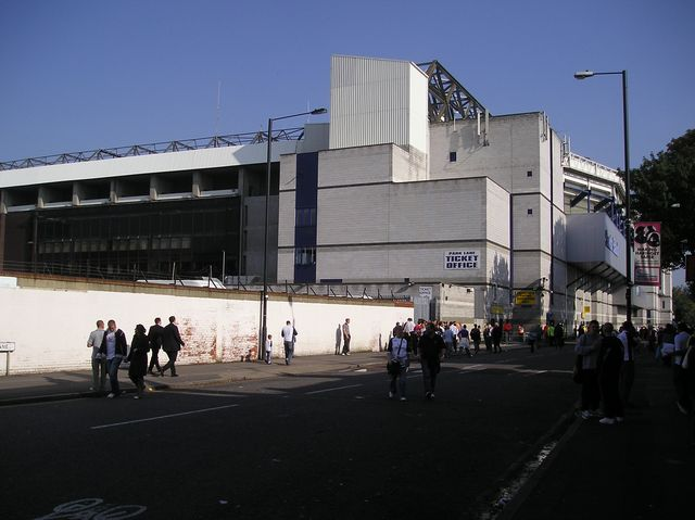 Tottenham Hotspur FC - FC Everton, White Hart Lane, Premier League, 16/10/2005