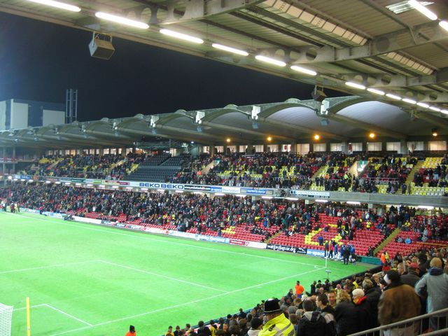 Watford FC - Queens Park Rangers, Vicarage Road, Championship, 07/12/2009