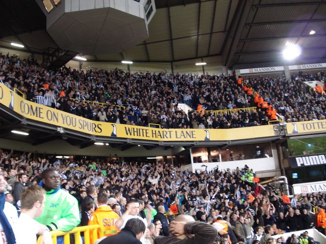 Tottenham Hotspur FC - Newcastle United, White Hart Lane, Premier League, 14/01/2007