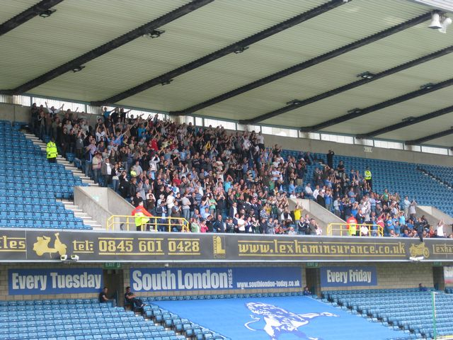 Millwall FC - Coventry City, New Den, Championship, 28/08/2010