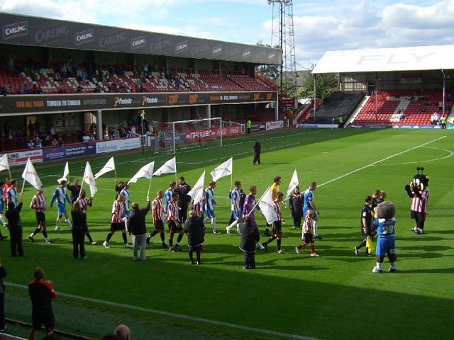 Brentford FC - Hartlepool United FC, Griffin Park, League One, 18/09/2010