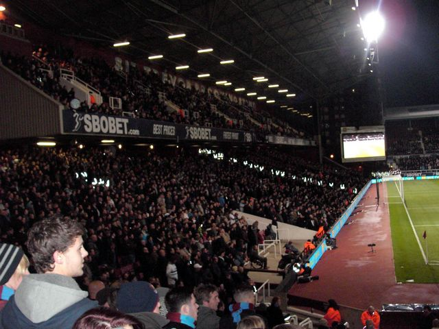 West Ham United - West Bromwich Albion, Upton Park, Premier League, 10/11/2010