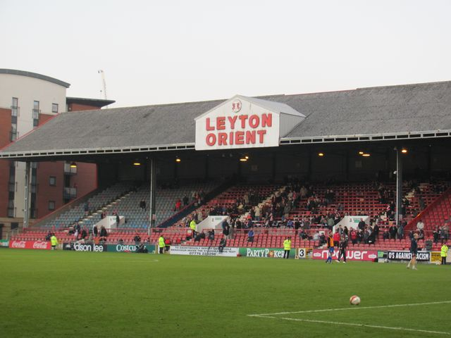 Leyton Orient - Stevenage FC, Matchroom Stadium, League One, 19/11/2011