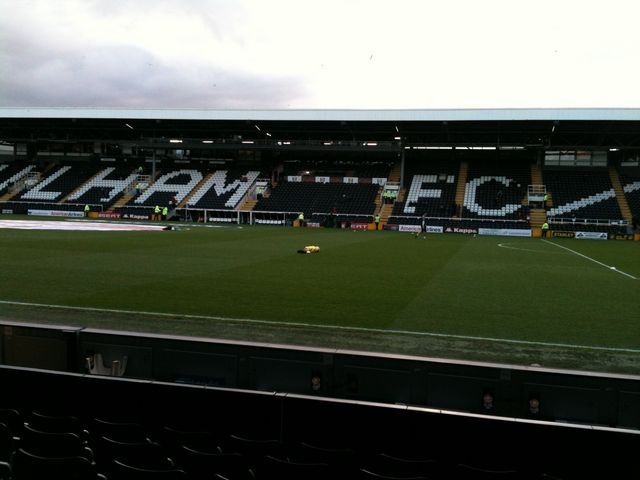 Fulham FC - Newcastle United, Craven Cottage, Premier League, 21/01/2012