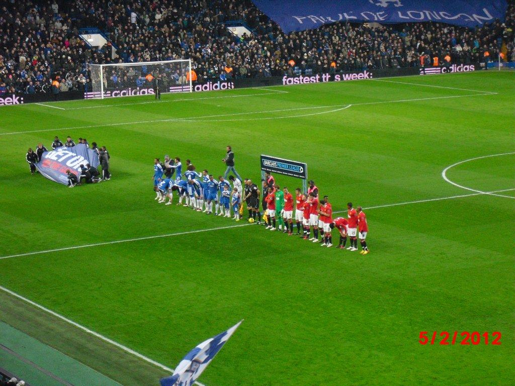 Chelsea FC - Manchester United, Stamford Bridge, Premier League, 05/02/2012