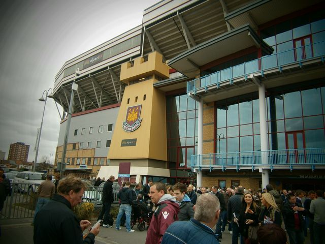 West Ham United - Reading FC, Upton Park, Championship, 31/03/2012