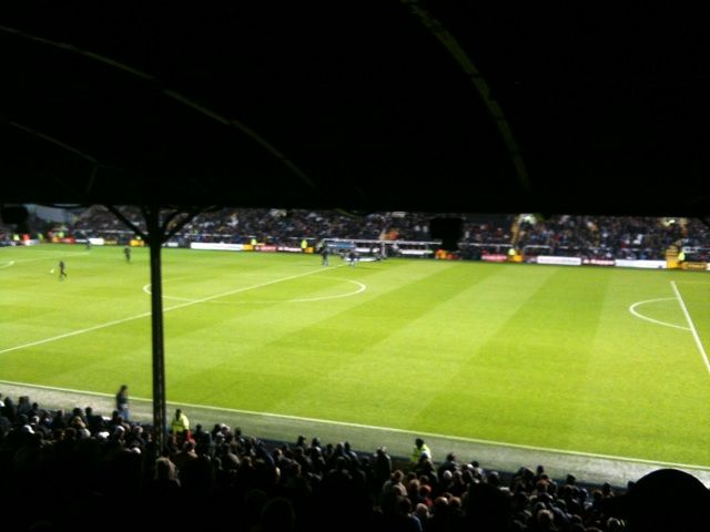Fulham FC - Chelsea FC, Craven Cottage, Premier League, 09/04/2012