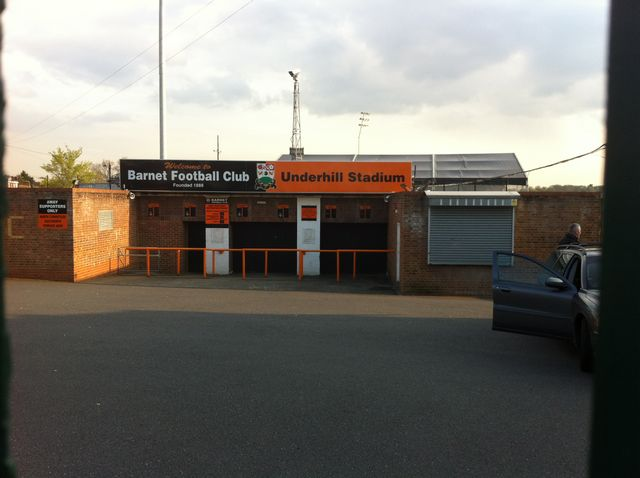 Barnet FC - Hereford United, Underhill Stadium, League Two, 13/04/2012