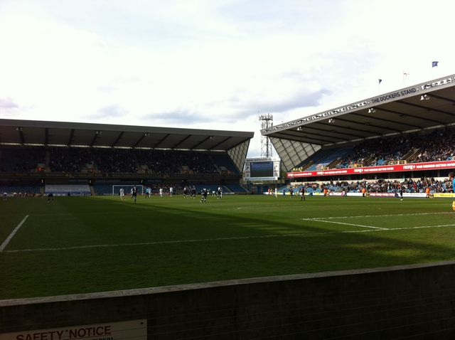 Millwall FC - Leicester City, New Den, Championship, 14/04/2012