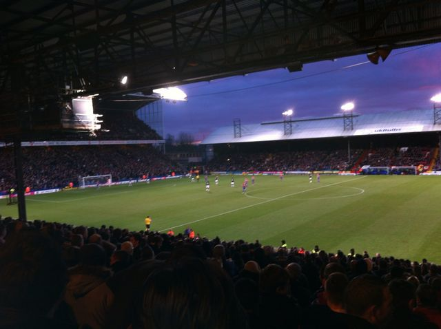 Crystal Palace - Charlton Athletic FC, Selhurst Park, Championship, 02/02/2013