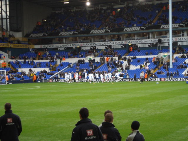 Tottenham Hotspur FC - Blackburn Rovers, White Hart Lane, Premier League, 28/10/2007