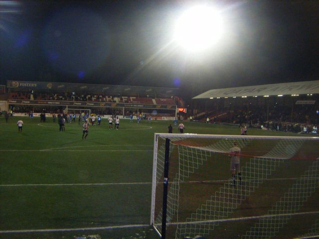 Brentford FC - Leyton Orient, Griffin Park, League One, 22/01/2013