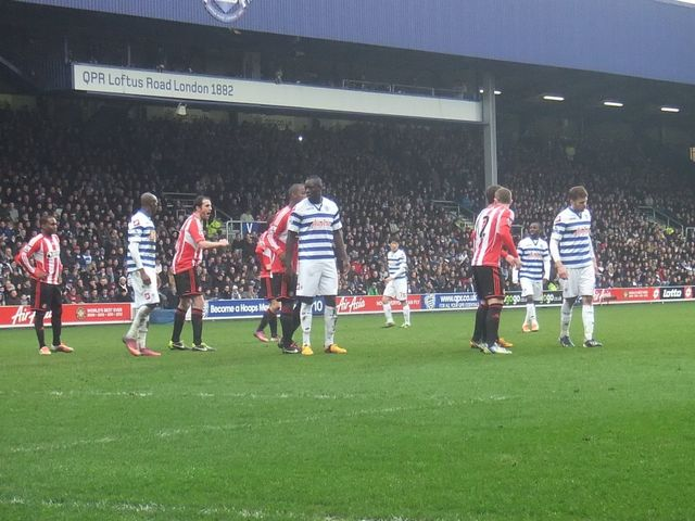 Queens Park Rangers - AFC Sunderland, Loftus Road, Premier League, 09/03/2013
