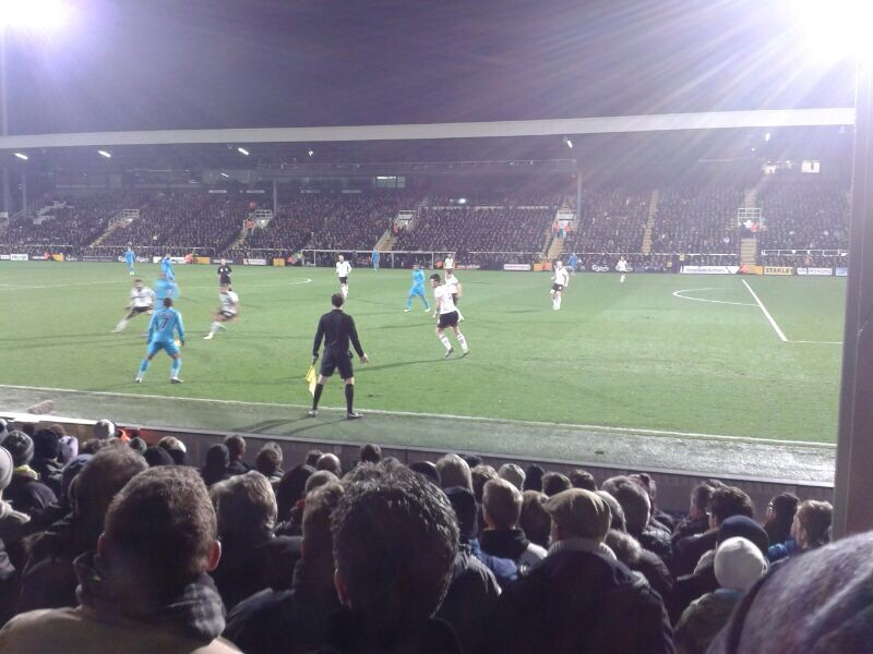 Fulham FC - Tottenham Hotspurs, Craven Cottage, Premier League, 04/12/2013
