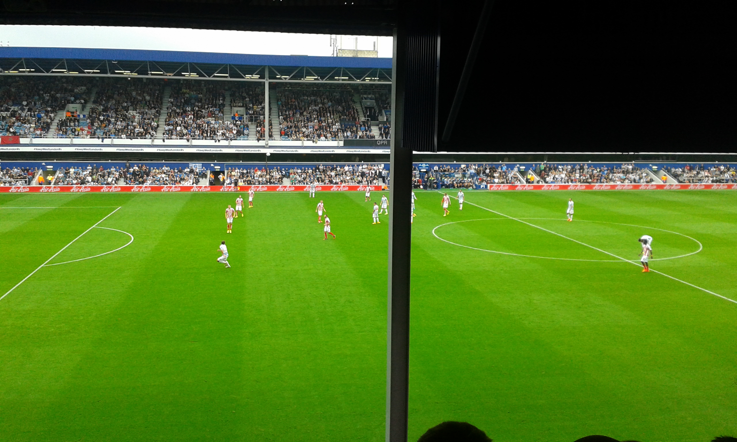 Queens Park Rangers - Stoke City, Loftus Road, Premier League, 20/09/2014