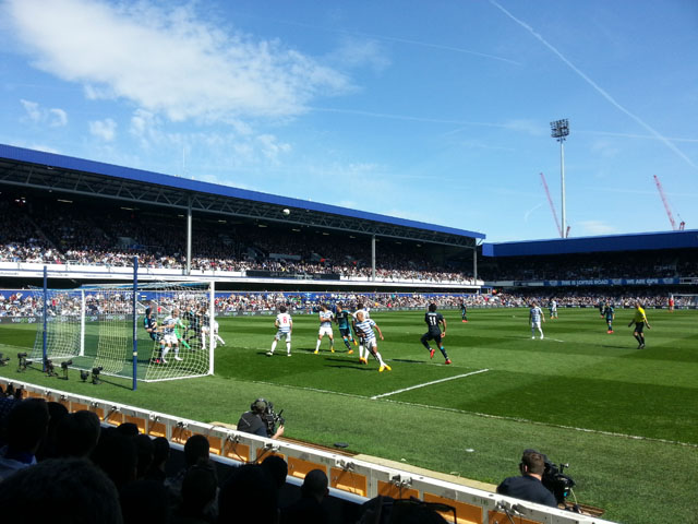 Queens Park Rangers - Chelsea FC, Loftus Road, Premier League, 12/04/2015