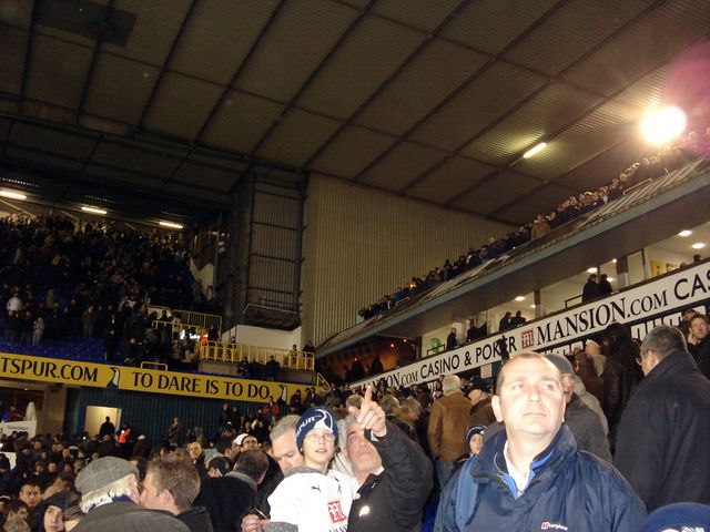 Tottenham Hotspur FC - Manchester City, White Hart Lane, Premier League, 09/12/2007