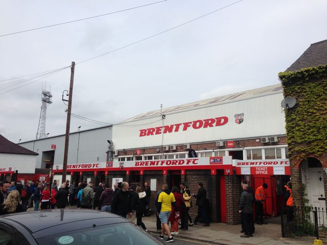 Brentford FC - Wigan Athletic, Griffin Park, Championship, 02/05/2015