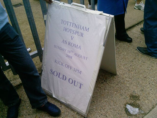 Tottenham Hotspur FC - AS Rom, White Hart Lane, Friendly, 10/08/2008