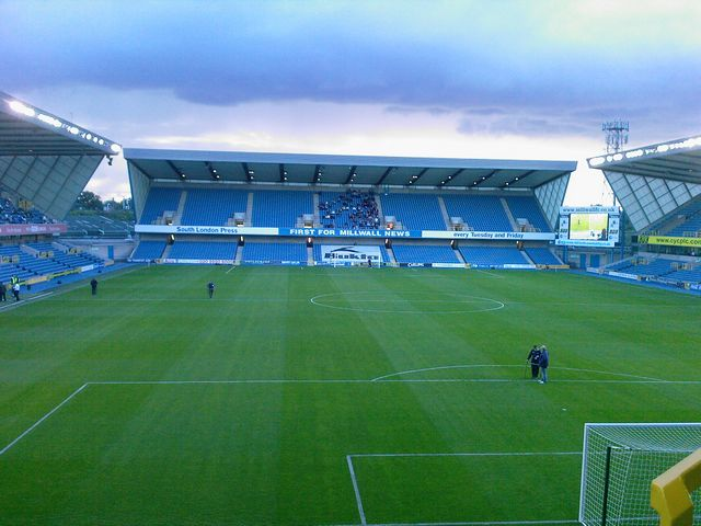 Millwall FC - Northampton Town, New Den, Carling Cup, 12/08/2008