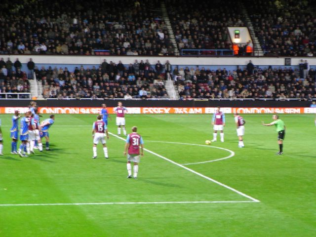 West Ham United - FC Portsmouth, Upton Park, Premier League, 15/11/2008