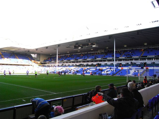 Tottenham Hotspur FC - Blackburn Rovers, White Hart Lane, Premier League, 23/11/2008
