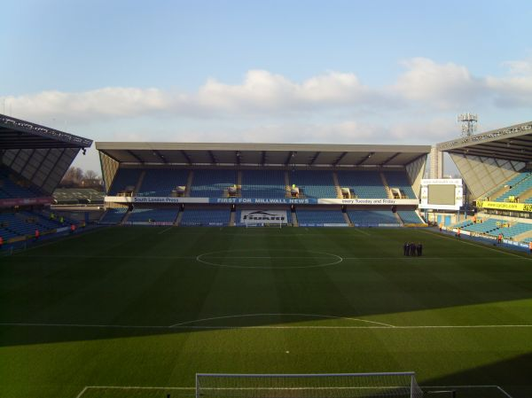 Millwall FC - Yeovil Town, New Den, League One, 28/12/2008