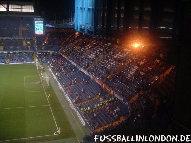 Stamford Bridge - Shed End - Chelsea FC - fussballinlondon.de