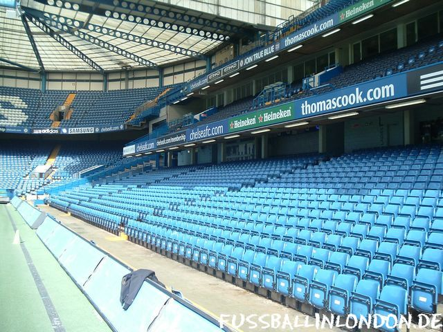 Stamford Bridge - East Stand Lower - Chelsea FC - fussballinlondon.de