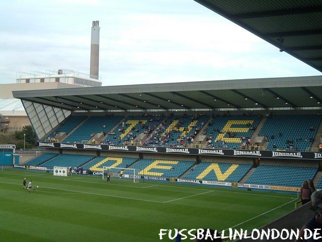 The Den - Cold Blow Lane End - Millwall FC - fussballinlondon.de